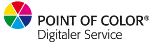 POINT OF COLOR - Digitaler Service
